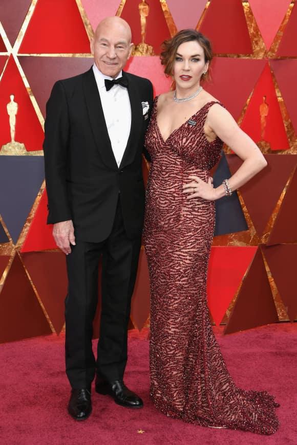 Patrick Stewart and Sunny Ozell