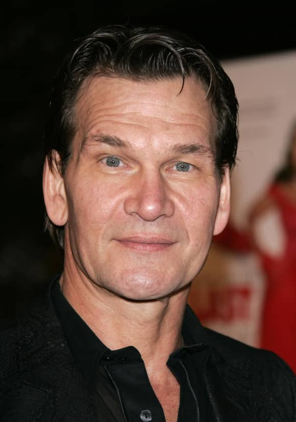 """Dirty Dancing"" star Patrick Swayze"
