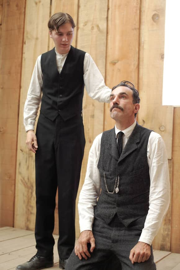 Paul Dano and Daniel Day-Lewis in There Will Be Blood famous quote