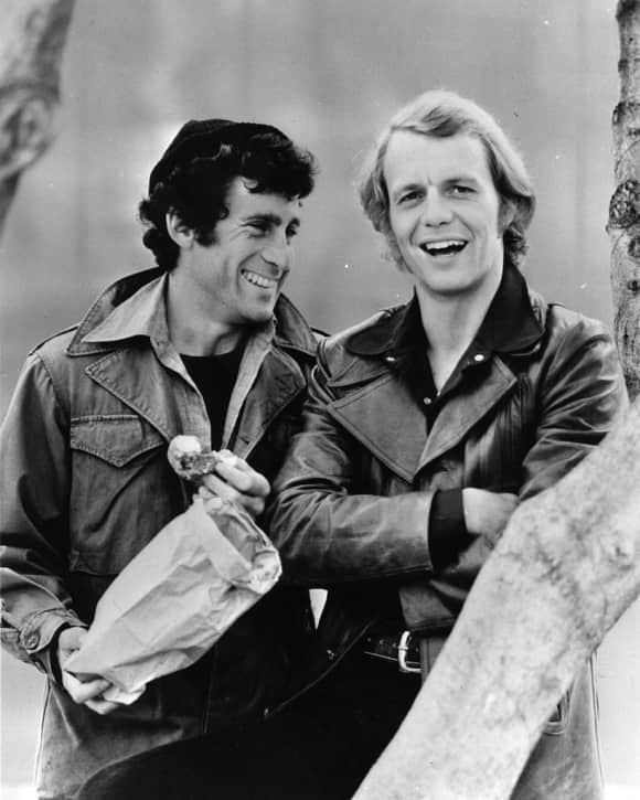 "Paul Michael Glaser and David Soul as ""Starsky"" and ""Hutch"""