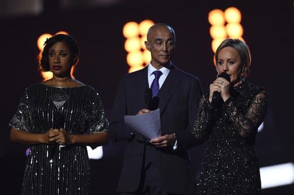 Andrew Ridgeley gedenkt George MichaelShirlie, Pepsi, Wham! Brit Awards 2017 Emotional Unter Tränen