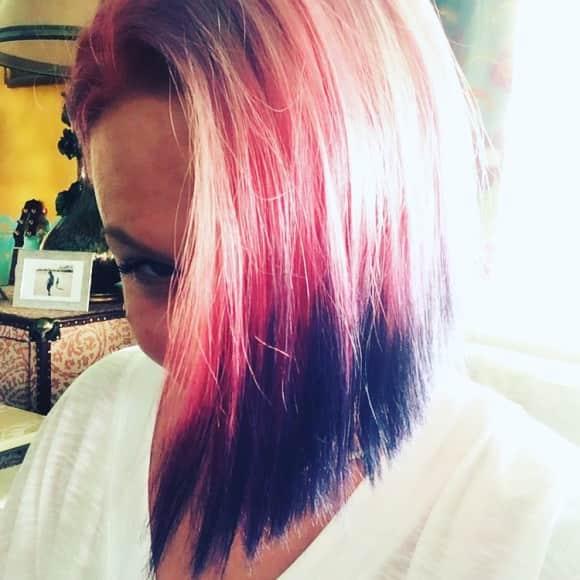 Pink hat wieder pinke Haare