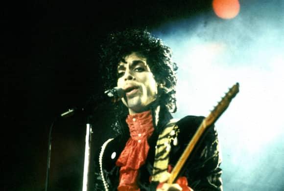 Prince (†57) im Jahr 1985