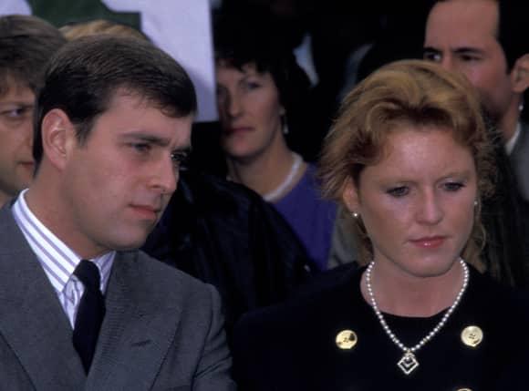 Prince Andrew Sarah Ferguson Divorce