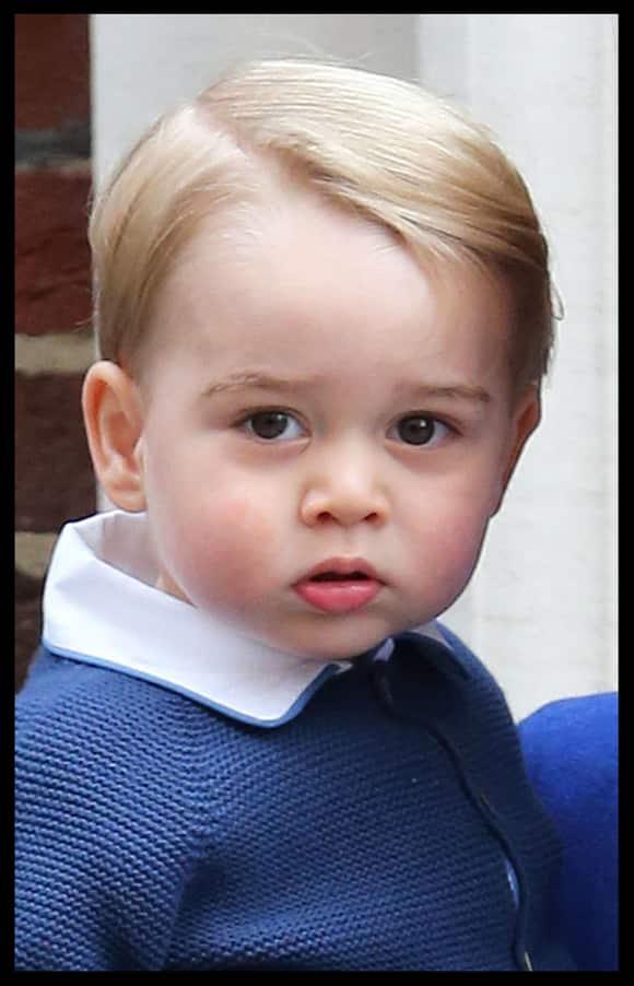 Zucksersüß! Prinz George ist schon sehr groß