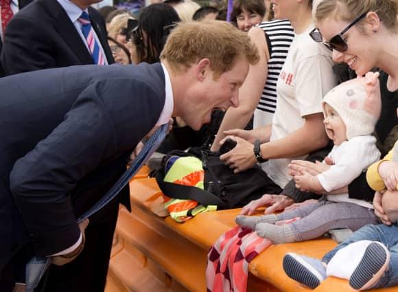 Prinz Harry in Neuseeland