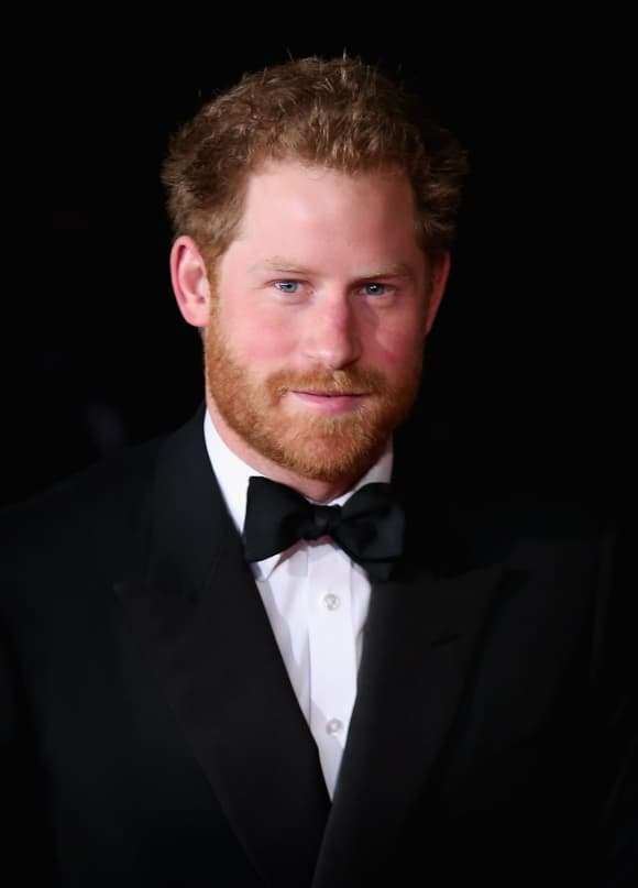 Prince Harry of Wales in November 2015