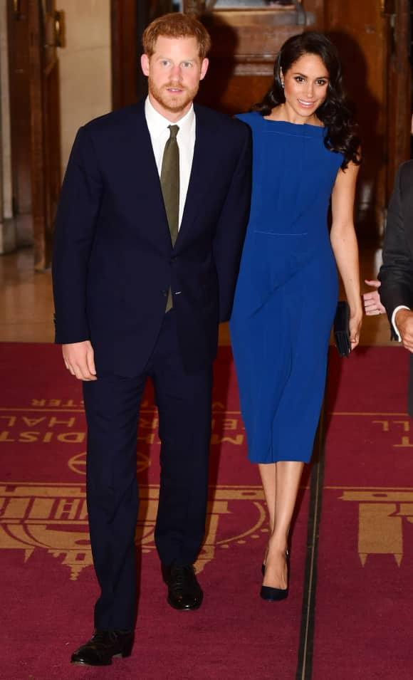 Prinz Harry und seine Ehefrau Herzogin Meghan