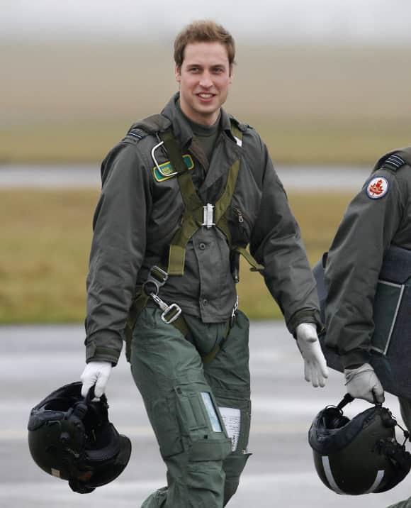 Prince William as a pilot