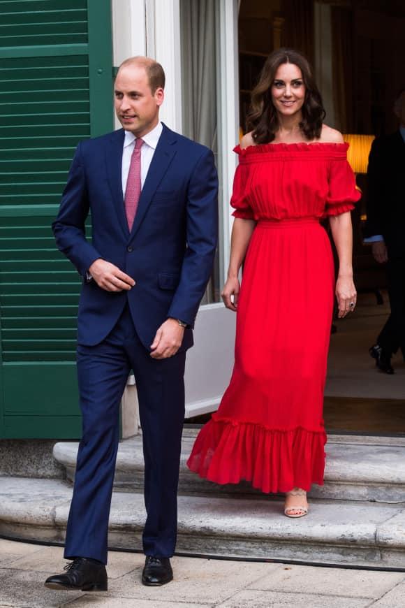 Prinz William Herzogin Kate Berlin