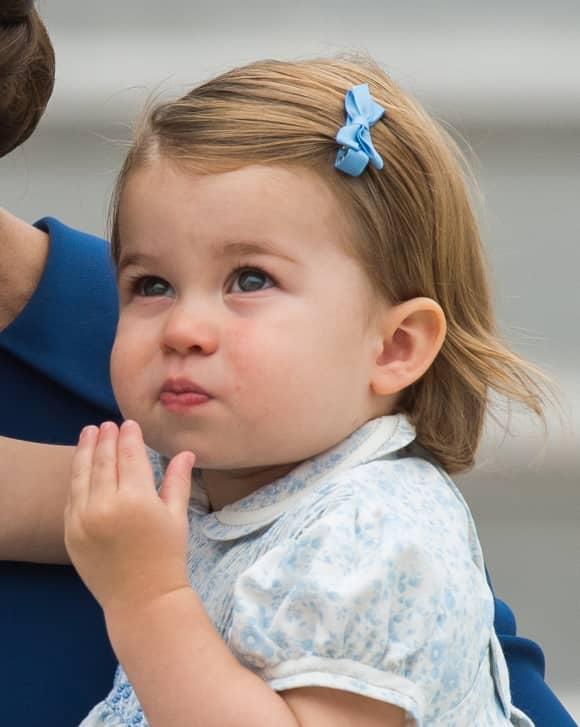Prinzessin Charlotte im Jahr 2016