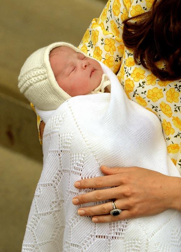 Kurz nach der Geburt: So sieht Prinzessin Charlotte aus