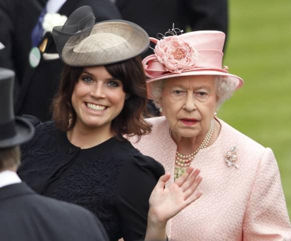Prinzessin Eugenie und Königin Elisabeth II.
