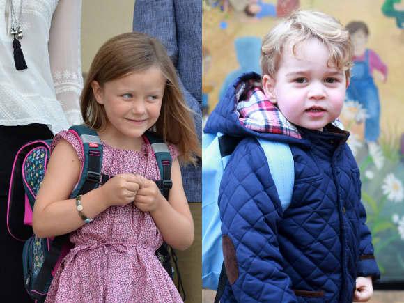 So süß sahen Prinzessin Isabella und Prinz George an ihrem ersten Schul- und Kindergartentag aus
