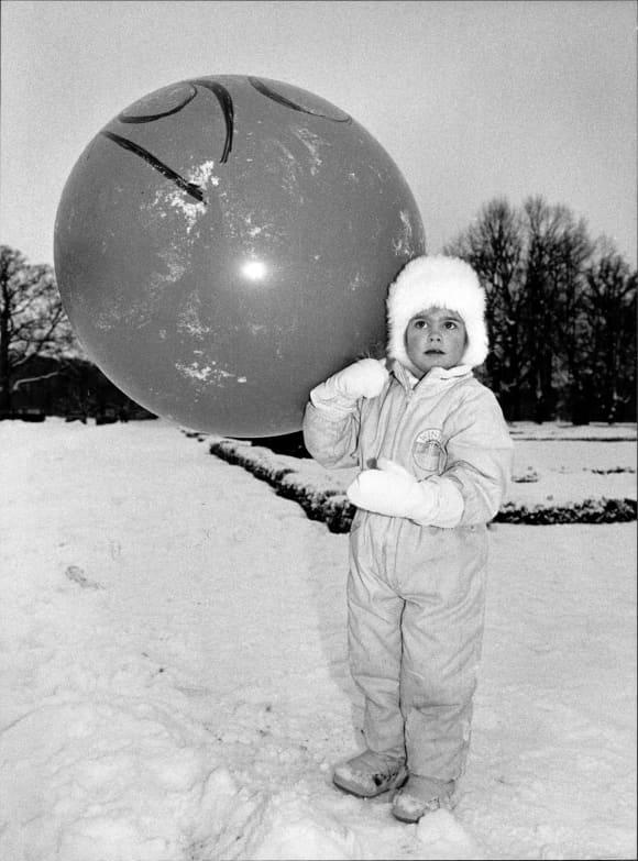 Prinzessin Madeleine von Schweden als Kind