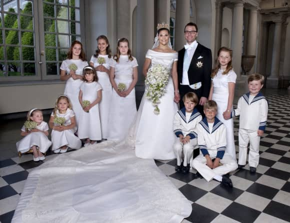 Victoria, Princess Royal and Prince Daniel of Sweden