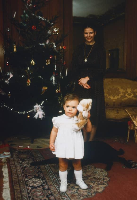 Schwedisches Königshaus Tradition Kronprinzessin Victoria von Schweden König Königin Familie Royal Schloss Stockholm Baby