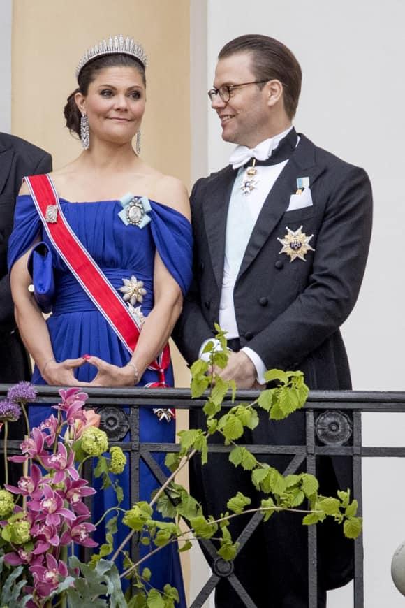 Prinzessin Victoria und Prinz Daniel bei den Feierlichkeiten zu Königin Sonjas und König Haralds Geburtstagen