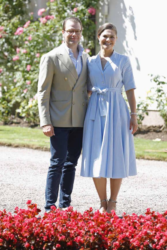 Prinzessin Victoria und Prinz Daniel auf Schloss Solliden
