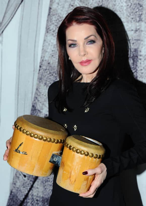 Priscilla Presley used to be married to Elvis Presley