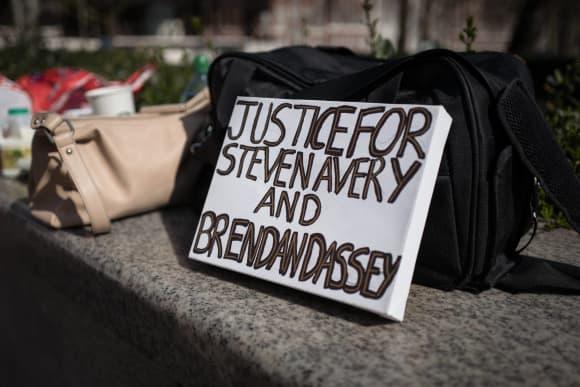 Protest for Steven Avery