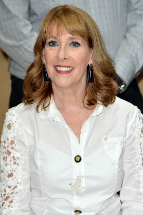 "Phyllis Logan played ""Mrs Hughes"" in ""Downton Abbey"""
