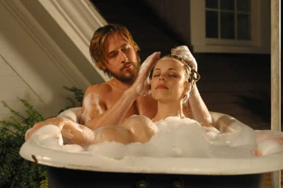 "Rachel McAdams and Ryan Gosling in ""The Notebook"""