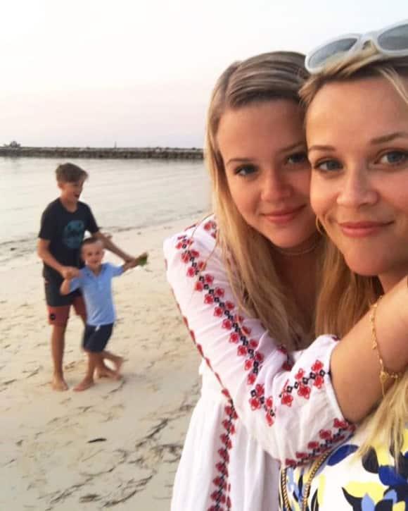 Reese Witherspoon und ihre Tochter Ava Phillippe