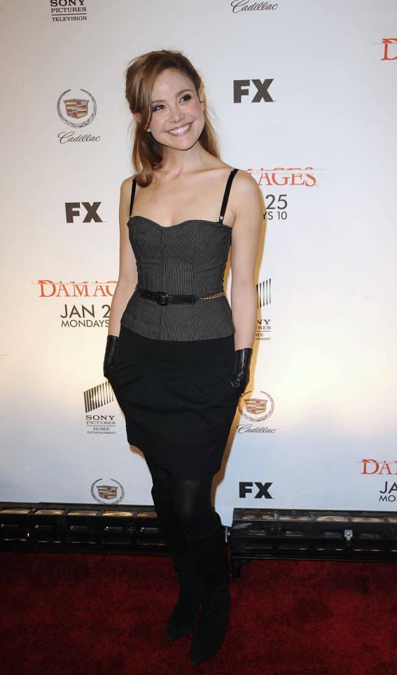 Reiko Aylesworth in New York City in 2010