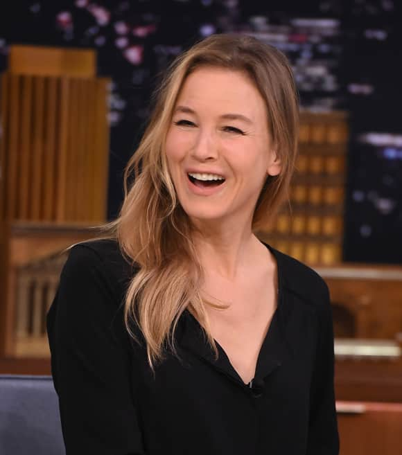 Renée Zellweger at Jimmy Fallon