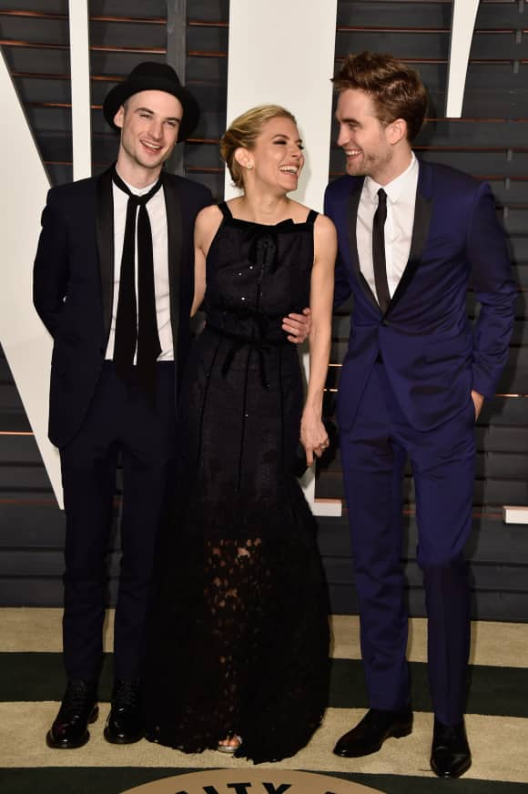Robert Pattinson, Sienna Miller and Tom Sturridge