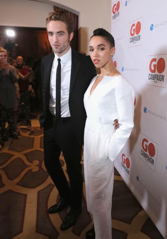 Robert Pattinson und FKA Twigs gemeinsam auf dem roten Teppich