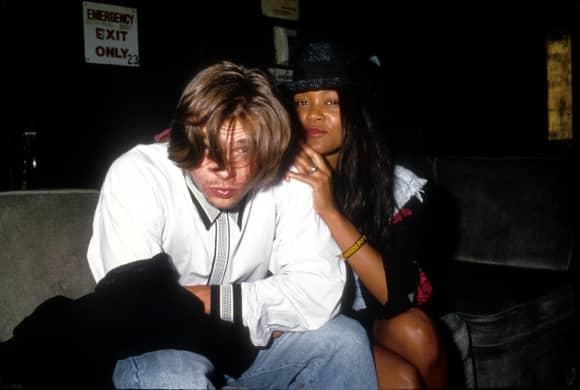 Robin Givens und Brad Pitt waren mal ein Paar
