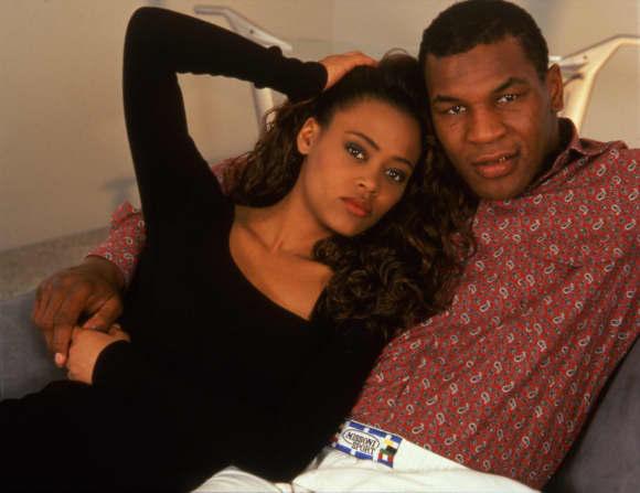 Robin Givens und Mike Tyson waren verheiratet