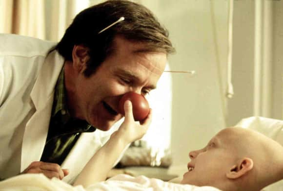 """Patch Adams"" star Robin Williams"