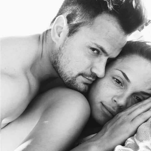 Rocco Stark und Nathalie ganz verliebt