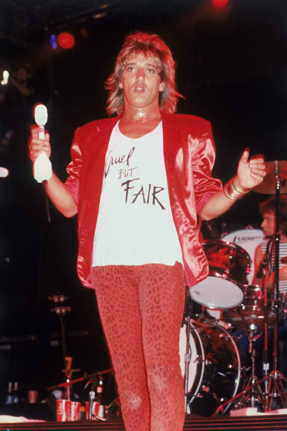Rod Stewart im Jahr 1980