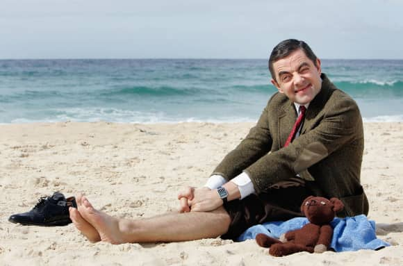 "Rowan Atkinson as ""Mr. Bean"""