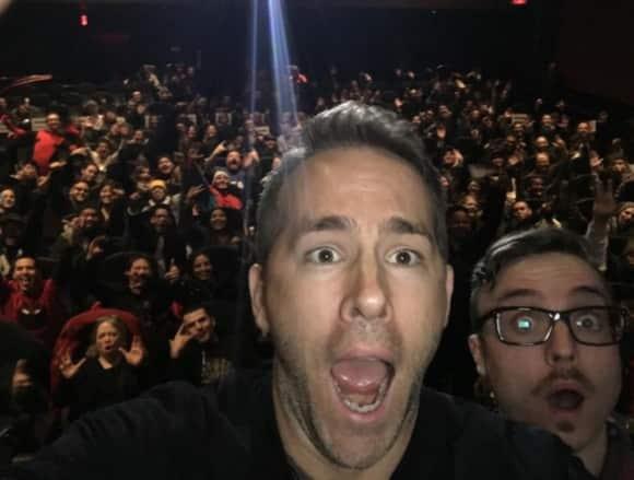 Ryan Reynolds überraschte seine Fans im Kino