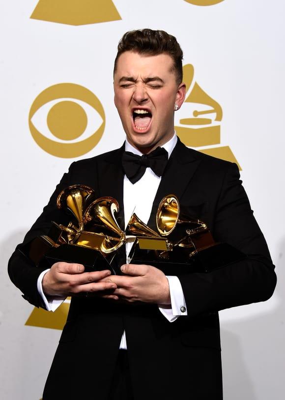 Sam Smith räumte bei den Grammys 2015 ab