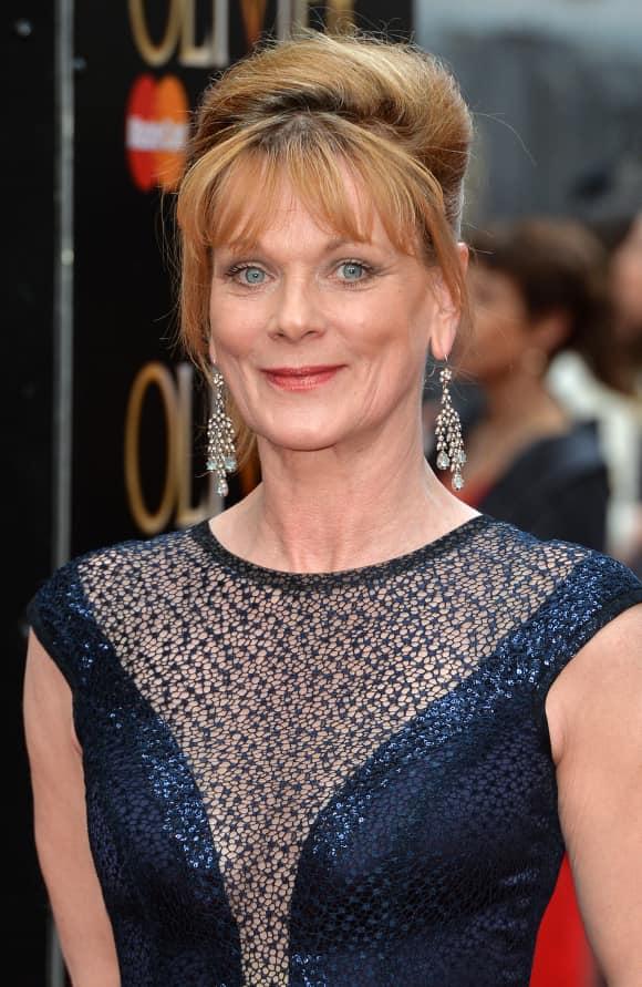 "Samantha Bond played ""Rosamund"" in ""Downton Abbey"""