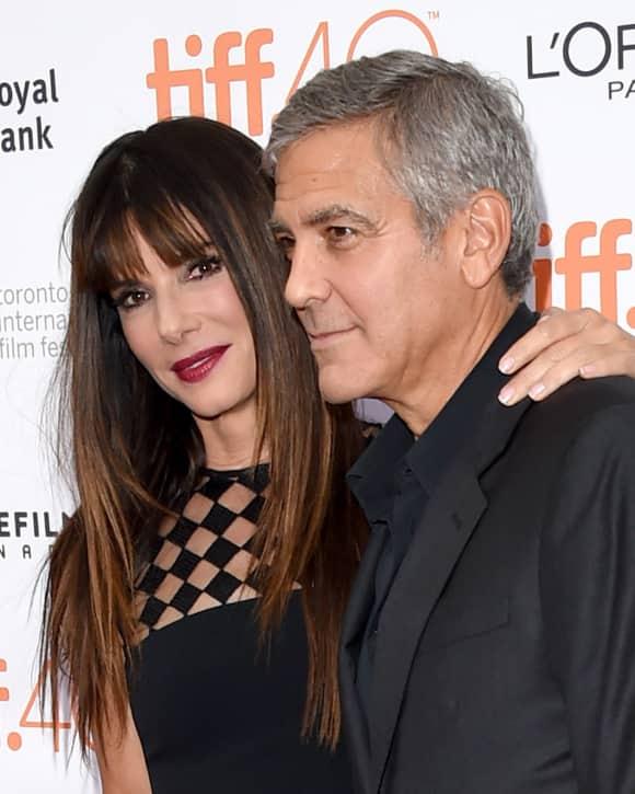 Sandra Bullock und George Clooney