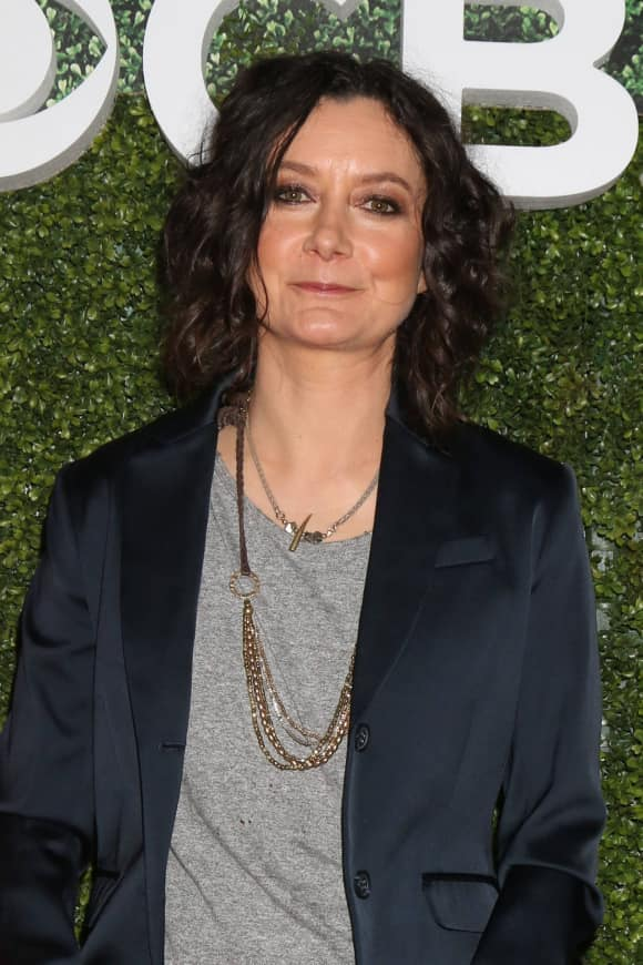 Sara Gilbert bei der CBS Showtimmer Sommer Party