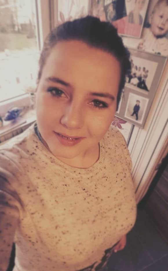 Sarafina Wollny Facebook Selfie Geburtstag