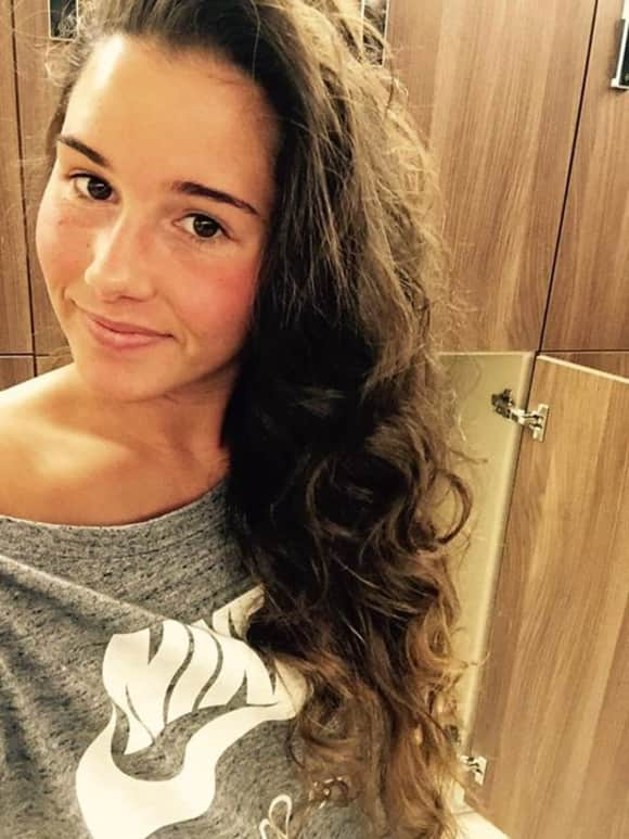 Sarah Engels, ohne make-up