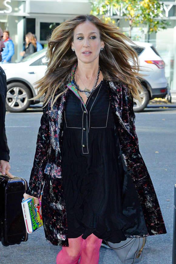So stylisch zeigte sich Sarah Jessica Parker in New York