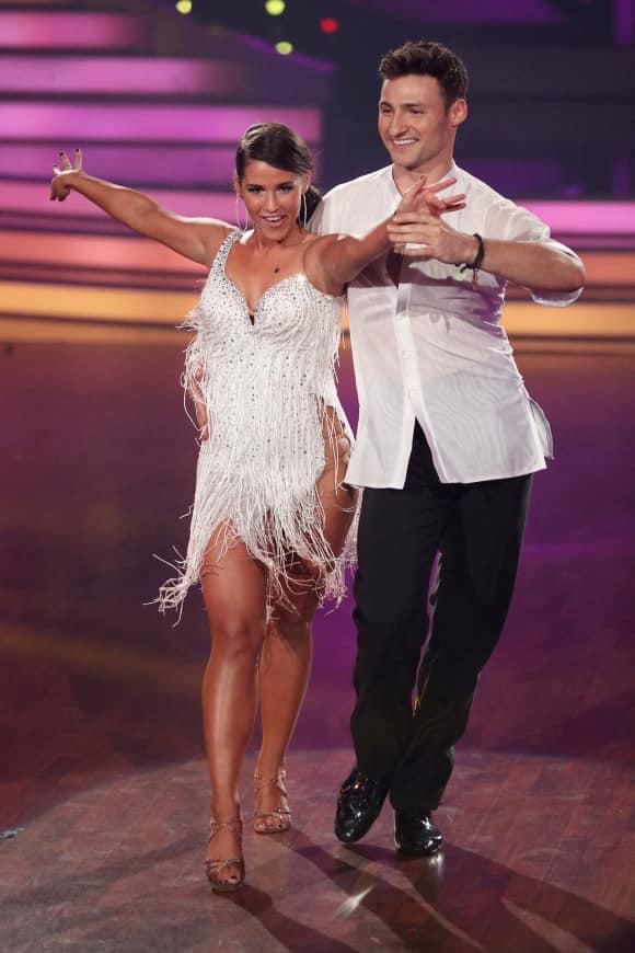 """Sarah Lombardi und Robert Beitsch beim Finale von """"Let's Dance"""""""