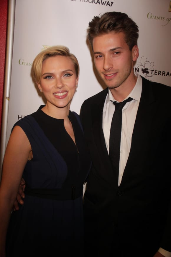 Scarlett JohanssonTwin Brother Hunter