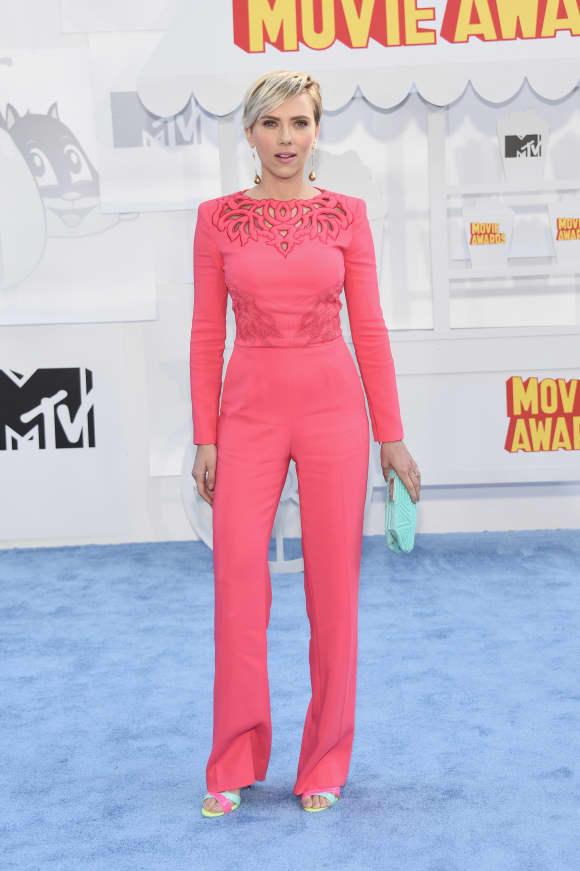 Scarlett Johansson bei den MTV-Movie-Awards 2015