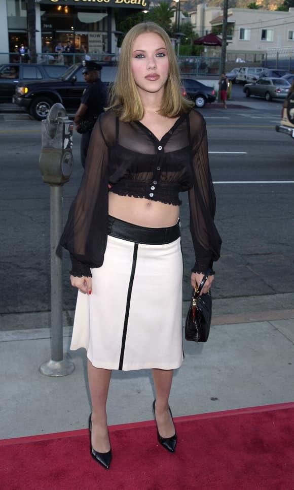Scarlett Johansson im Jahr 2001